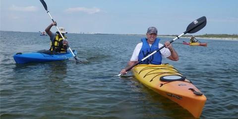 pensacola kayaking Pensacola in the winter: Florida at its best
