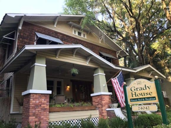 The downtown B&B is in a historic home. (Photo: Bonnie Gross)