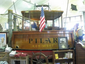 "Replica of Hemmingway's ""Pilar"""
