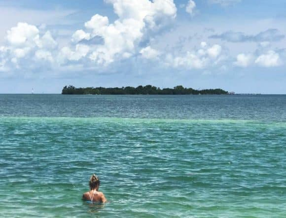 Indian Key Historic State Park as it looks from the Overseas Highway in Islamorada. (Photo: Bonnie Gross)