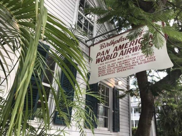 First Flight brewery is located in the historic Pan Am building in Key West. (Photo: Bonnie Gross)