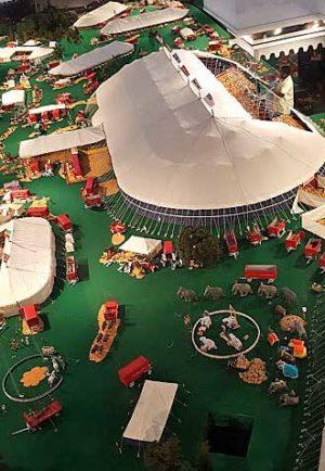 Ringling Circus Museum model circus