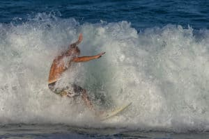 surfing at sebastian inlet