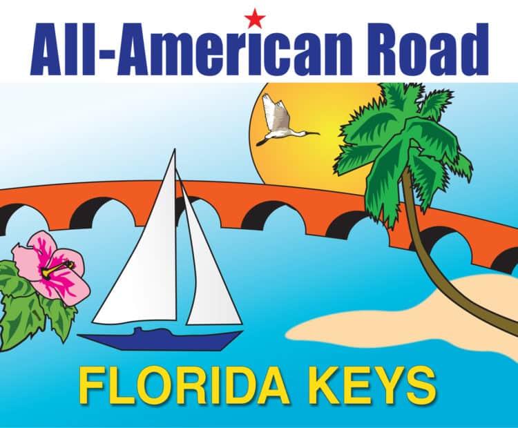 KeysAll AmericanLogo Florida Keys Overseas Highway Mile-Marker Guide