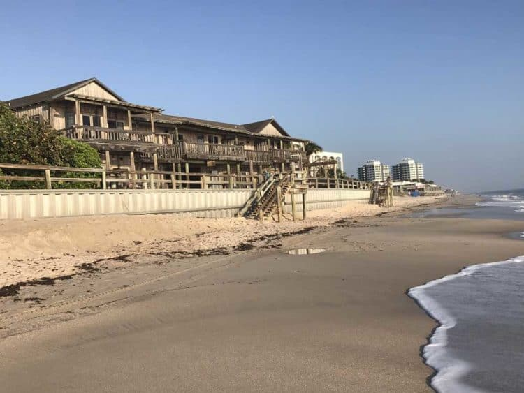 The Driftwood Inn Vero Beach overlooking the Atlantic. (Photo: Bonnie Gross)