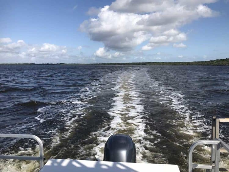 houseboat motor A houseboat adventure in Everglades National Park