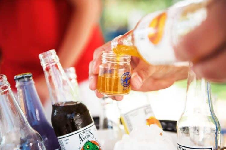 A sample of craft soda at the Sebring Soda Festival.