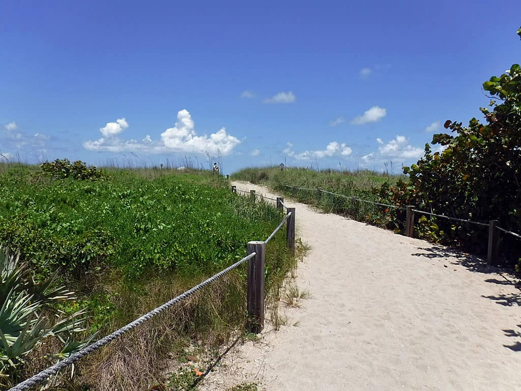 Blind Creek Beach on Hutchinson Island
