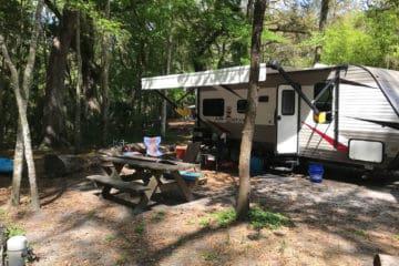 Our campsite (#36)