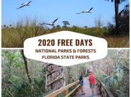 2020 free days national parks January Events in Florida