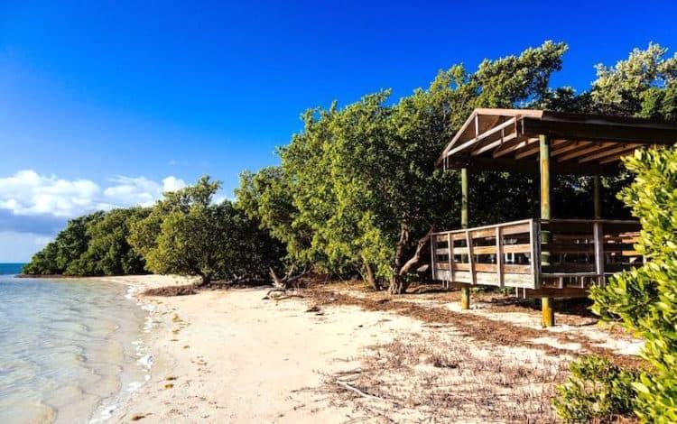 New pavilion at Anne's Beach. (Photo: Courtesty City of Islamorada.)