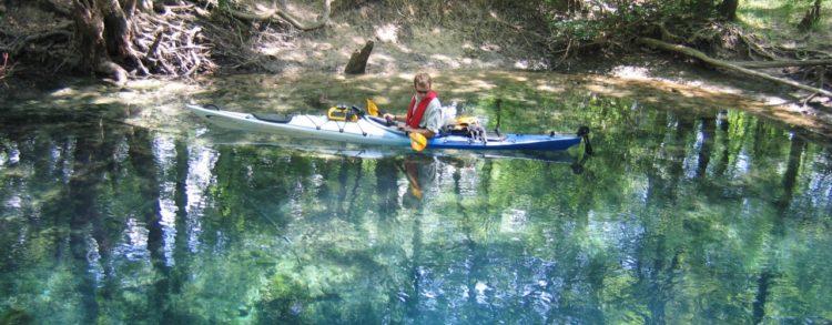 chipola photo spring Florida Caverns State Park still suffering Hurricane Michael impact
