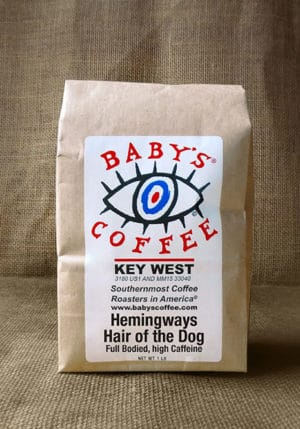 Key West shopping: Baby's Coffee for the buzz