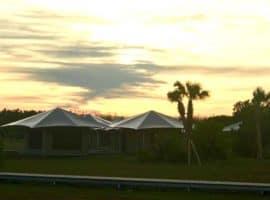 flamingo ecotents sky Everglades National Park opens eco-tents in Flamingo