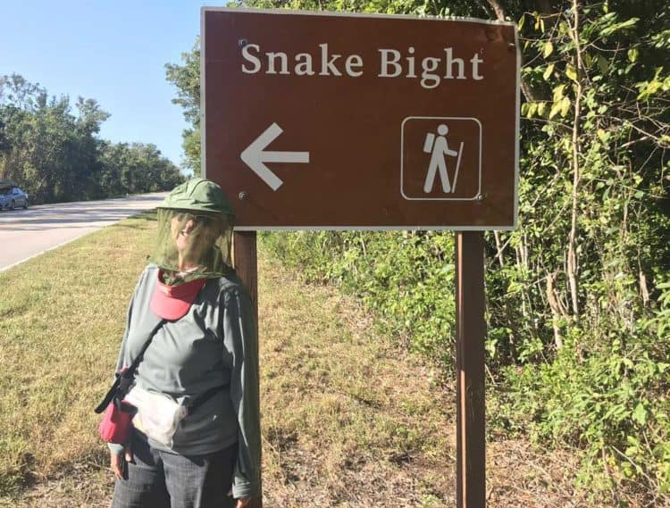 The Snake Bight Trail near Flamingo in Everglades National Park is famous for being the worst place for mosquitos. I came prepared. (Photo: David Blasco)