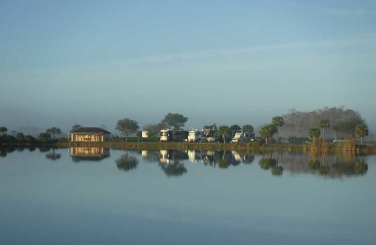 monument lake hosts pod Camping in the Everglades and Big Cypress