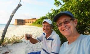 Bonnie Gross, co-founder of Florida Rambler, and her husband David Blasco