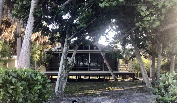 One of the rental cottages on Cabbage Key. (Photo by Bonnie Gross)