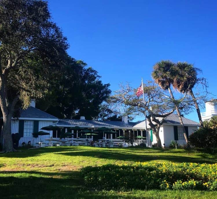 The Cabbage Key Inn was built as a private home in 1937. It was converted into an inn in the 1940s and has been owned by the Wells family since 1976. (Photo by Bonnie Gross)