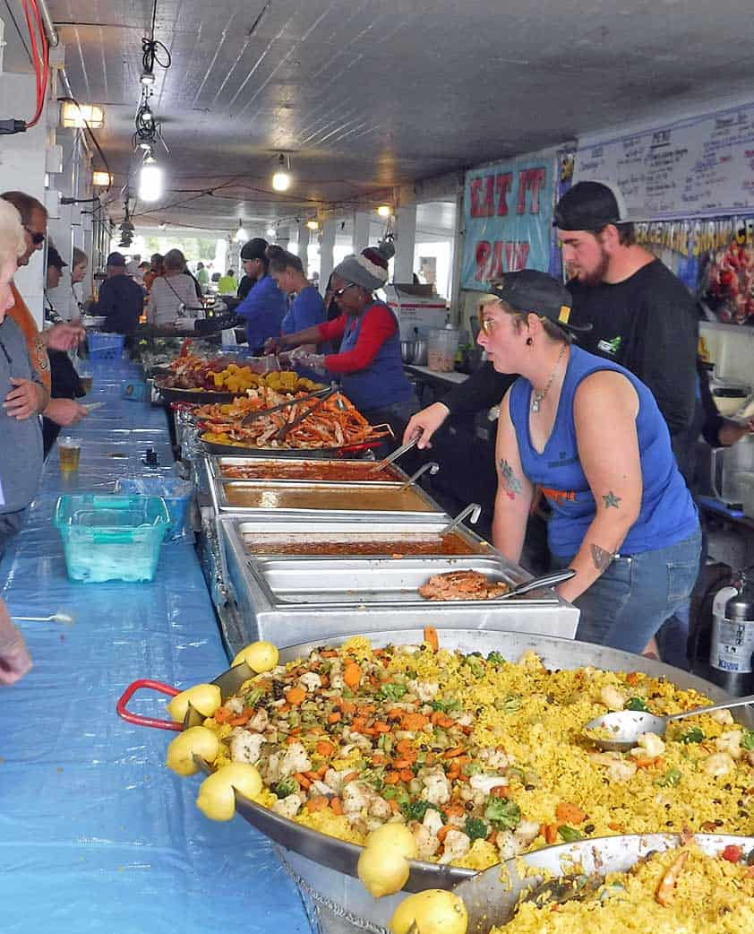 everglades seafood line Everglades Seafood Festival: Cancelled for 2021