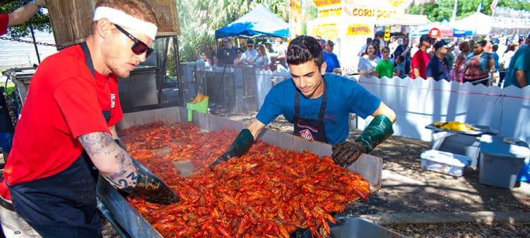 Pensacola Crawfish Festival