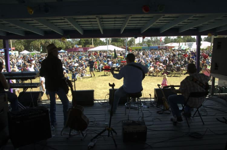 grant seafood stage Grant Seafood Festival, Feb. 29-March 1, 2020