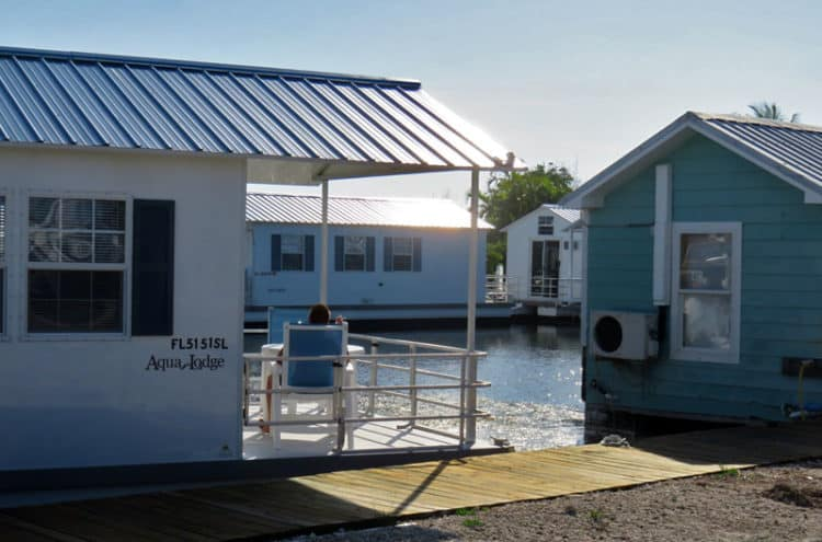 Key West houseboat rentals: These houseboats are on Big Pine Key, about 45 minutes north. (Photo: Bonnie Gross)