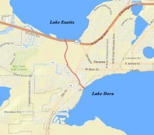 Dora canal map