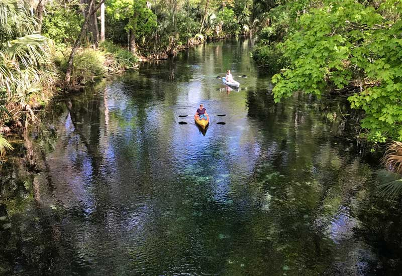 Silver Springs State Park: Wonderful kayaking is just the start of why this is one of the best Florida state parks. (Photo: Bonnie Gross)