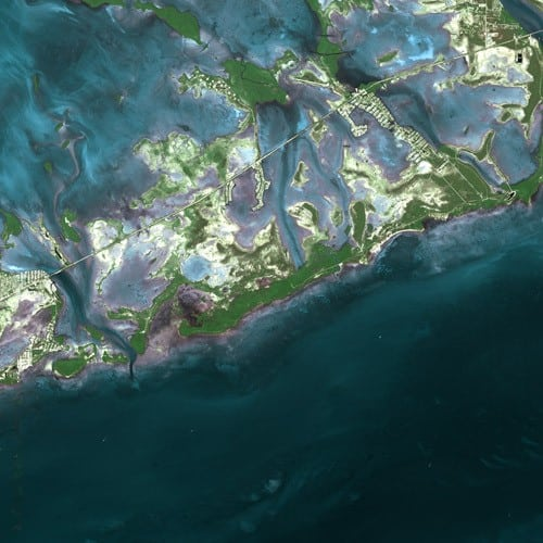 Sugarloaf Key satellite