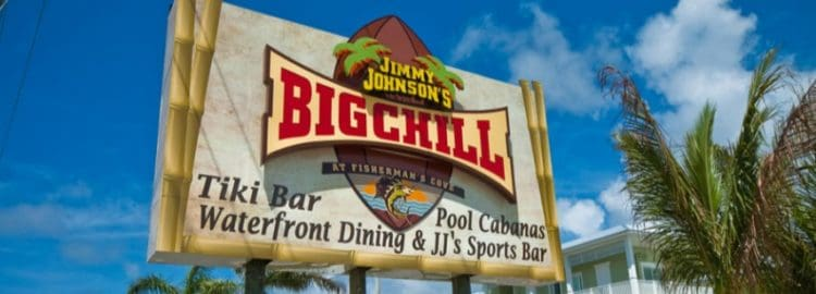 Things to do in Key Largo: Big Chill tiki bar and restaurant