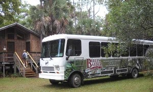 Florida hike: Barley Barber Swamp tour bus
