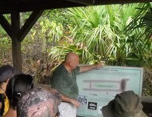 Florida hike: Barley Barber Swamp Indian mound