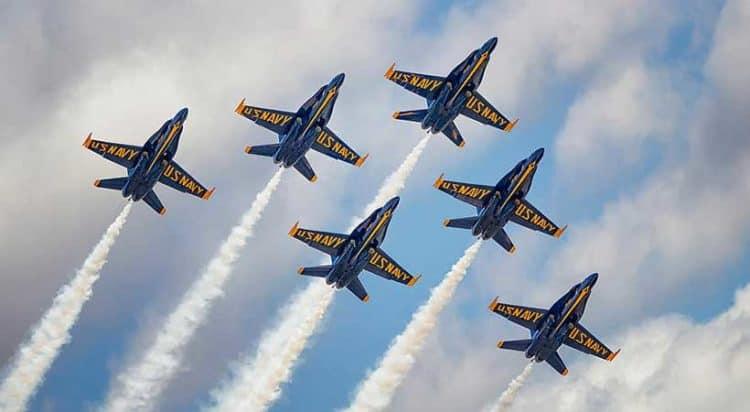 Fort Lauderdale Air Show has US Navy Blue Angels as their headliner in 2021.