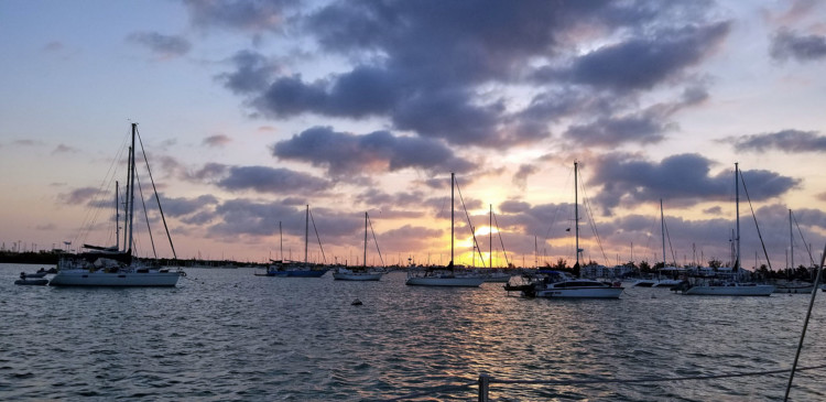 things to do in marathon boot key harbor sunset