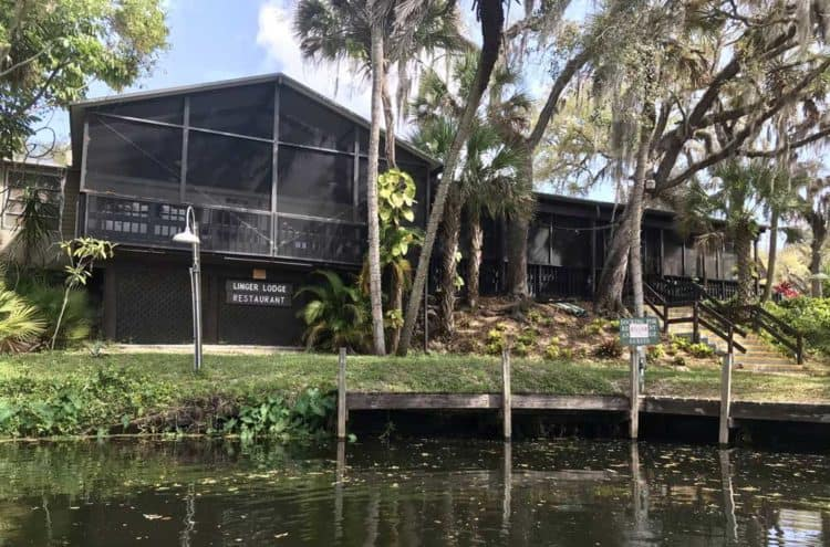 Linger Lodge on the Braden River is a good destination from Jiggs Landing. It is currently closed due to the pandemic. (Photo: Bonnie Gross)
