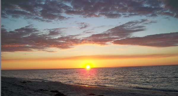 Cayo Costa sunset At Cayo Costa State Park, you live your dreams of a private island