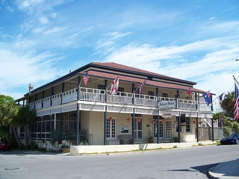 When you visit Cedar Key, be sure to stop by the Cedar Key Island Hotel. (Photo: Bonnie Gross)