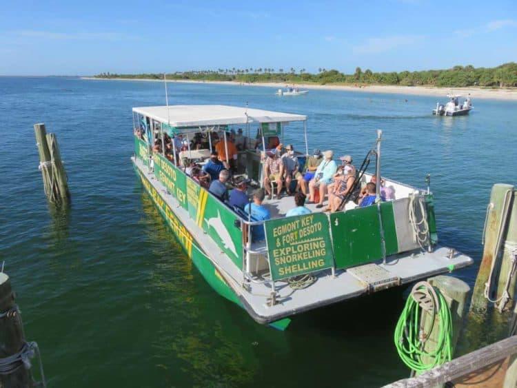 The Egmont Key ferry. (Photo: Bonnie Gross)