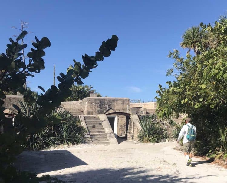 Fort Dade on Egmont Key. (Photo: Bonnie Gross)