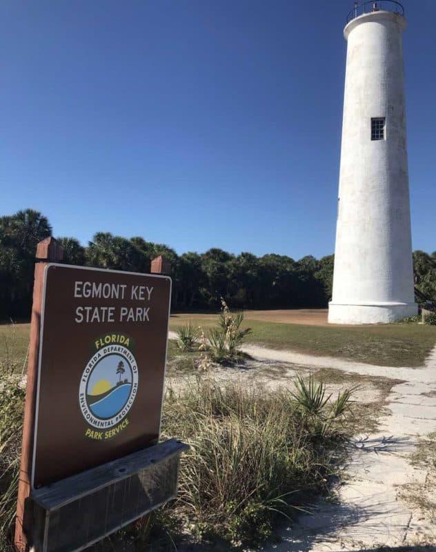 The Egmont Key lighthouse. (Photo: Bonnie Gross)