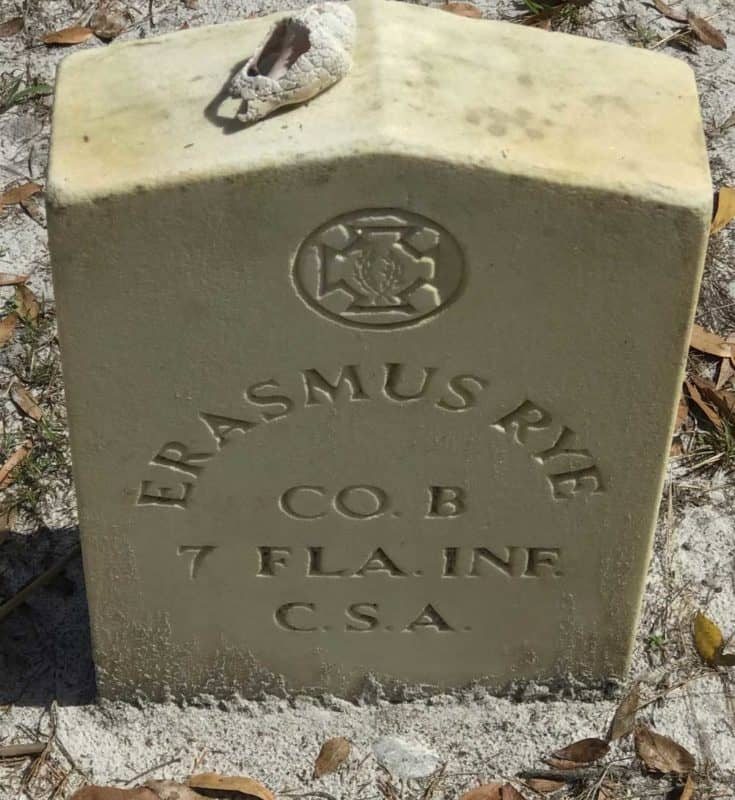 Along the Upper Manatee River, Rye Preserve is on the site of a community that was abandoned 90 years ago. It was founded by Erasmus Rye, whose grave is found in the pioneer cemetery along a trail. (Photo: Bonnie Gross)