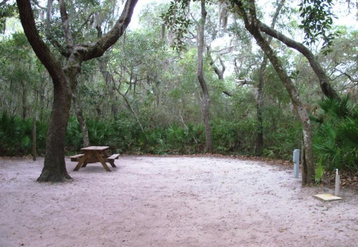 FaverDykes camping 8 inviting campgrounds at Florida State Parks along I-95