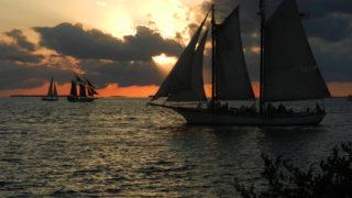 florida keys sunset fort zachary taylor