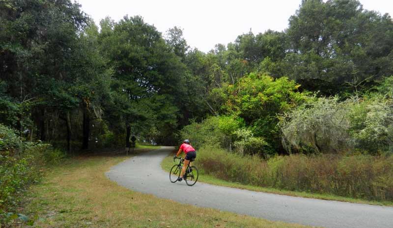 Gainesville Hawthorne turn Gainesville-Hawthorne: One of state's best bike trails