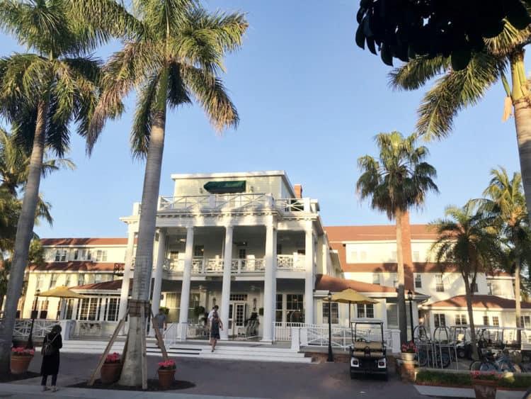 Historic hotels in Florida: The Gasparilla Inn and Club. (Photo: Bonnie Gross)