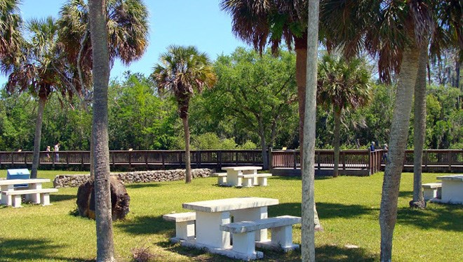 HP Williams Roadside Park in Big Cypress Preserve is a good place to see wildlife and have a picnic. (Photo: National Park Service)