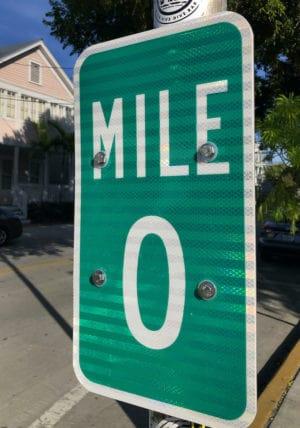 MileZeroSign Florida Keys Overseas Highway Mile-Markers Guide