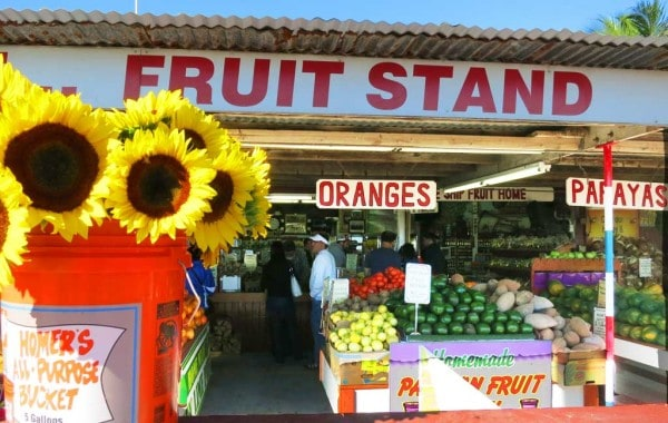 Robert Is Here bursts with flowers, fruits, colors and fun in the Redlands area.