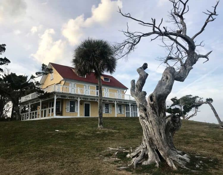 Seminole Rest in Oak Hill, Florida, is a historic home operated by the National Park Service. (Photo: Bonnie Gross)